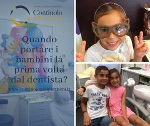 Quando portare i Bambini dal Dentista | Continolo & Partners